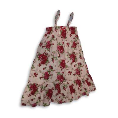 128-as fehér virágos ruha - H&M