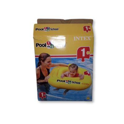 Beülős bébi úszógumi - Intex - Pool School