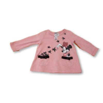 68-as rózsaszín vékonyabb kötött pulóver - Minnie Egér