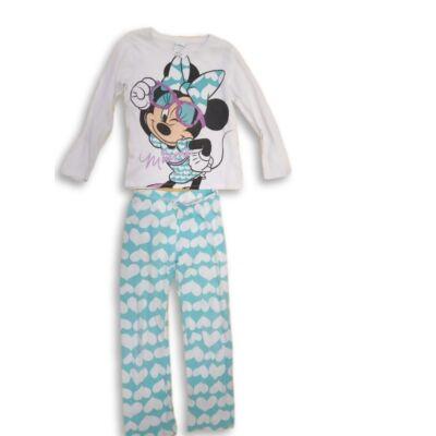 134-es fehér-kék pizsama - Minnie Egér