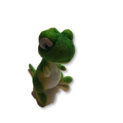 Zöld plüss dínó