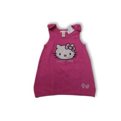 80-as pink kötött ruha - Hello Kitty