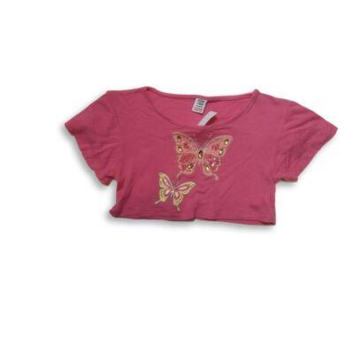 116-os pink lepkés top - Store Twenty One
