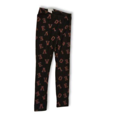 152-es fekete-piros betűs pizsamaalsó (unisex) - F&F