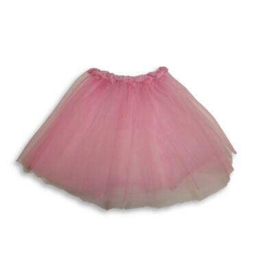 4-5 évesre rózsaszín tüll-tütü, balettszoknya - ÚJ