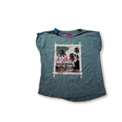 152-es szürke pálmafás póló - F&F