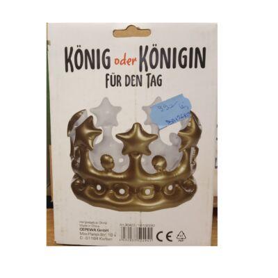 Felfújható korona, jelmezkiegészítő - ÚJ