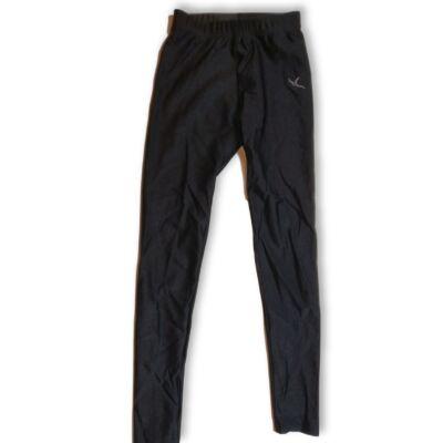 122-128-as fekete sportnadrág, leggings - Decathlon