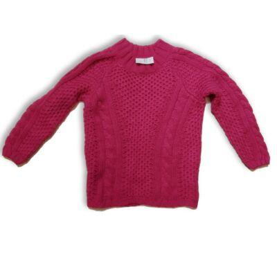 140-es rózsaszín kötött pulóver - Young Dimension