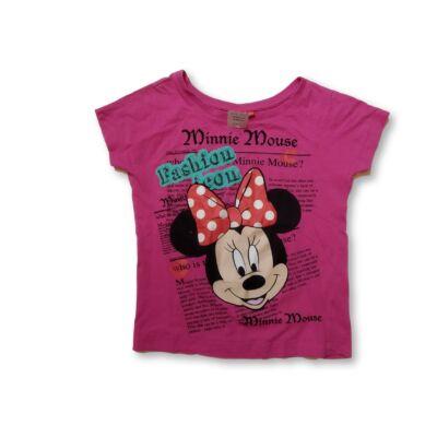 134-140-es pink póló - Minnie Egér