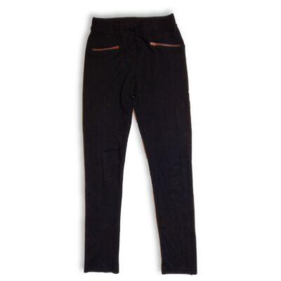 170-es fekete pamutnadrág - H&M