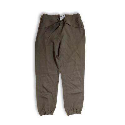 152-es khaki masnis vékonyabb lány nadrág - Zara