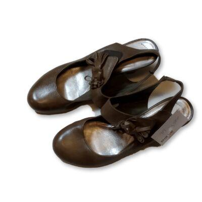 39-es barna pántos női cipő - Tamaris