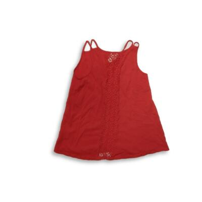 140-es piros ujjatlan póló - Zara