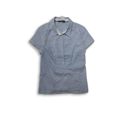 Női S-es kék kockás rövid ujjú blúz - Orsay