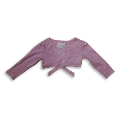 110-es rózsaszín pamut bolero - Dopodopo