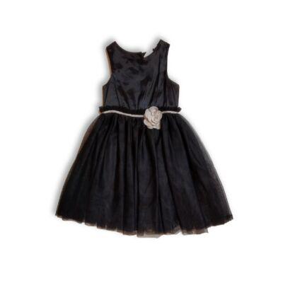 122-es fekete tüllös alkalmi ruha - H&H