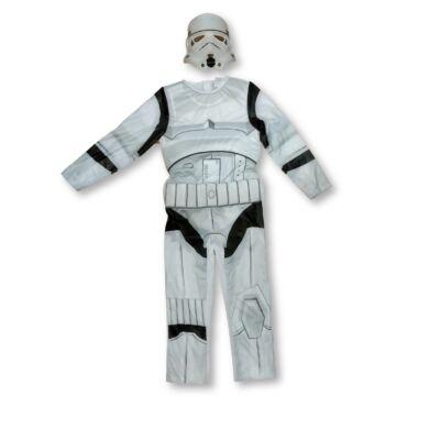 128-as fehér pufijelmez - Star Wars rohamosztagos