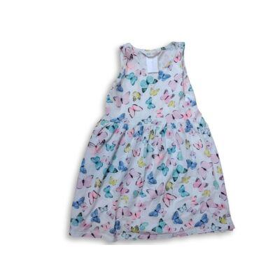 122-128-as fehér lepkés nyári ruha - H&M