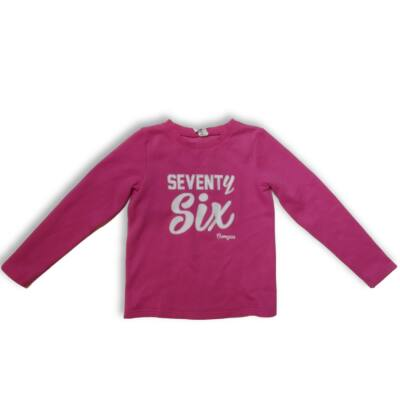 134-140-es pink pamut pulóver - Decathlon
