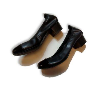 38-as fekete alkalmi cipő - Clara Barson