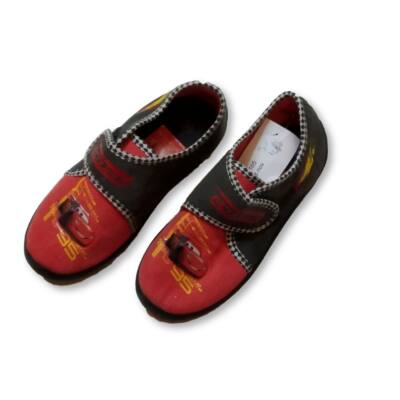 30-as szürke-piros vászoncipő - Verdák