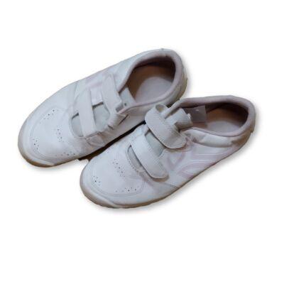 37-es fehér-rózsaszín tépőzáras sportcipő - Artengo, Decathlon