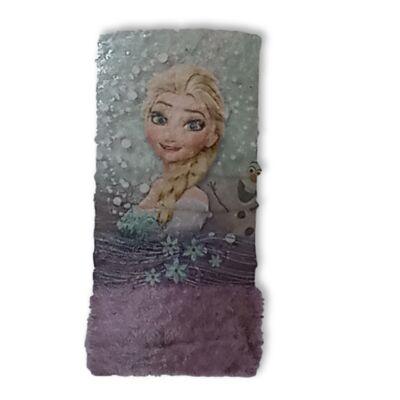 Multifunkcionális lila nyaksál - Frozen, Jégvarázs - ÚJ