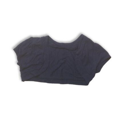 110-es kék pamut boleró