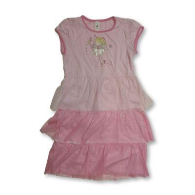 134-140-es rózsaszín tüllös ruha - C&A