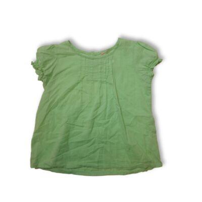 116-os zöld rövid ujjú blúz