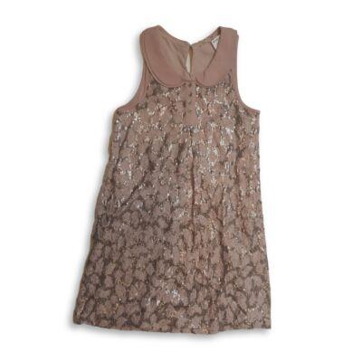 134-es flitteres galléros rózsaszín alkalmi ruha