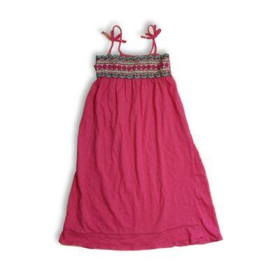 122-es rózsaszín pántos hímzett ruha - Zara