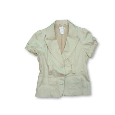 Női M-es drapp rövid ujjú blézer - Orsay