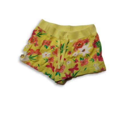 104-es sárga virágos pamutshort - Young Dimension