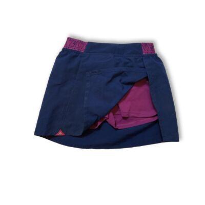 116-os kék-rózsaszín sportos szoknya-short