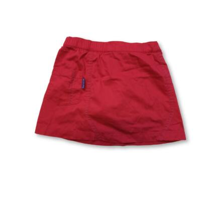 116-os piros szoknya-short  - Quechua, Decathlon