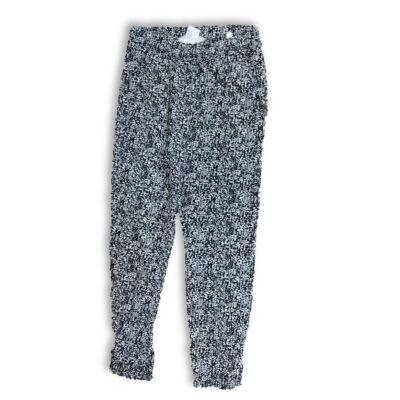 134-es fekete-fehér mintás lenge nyári nadrág - H&M