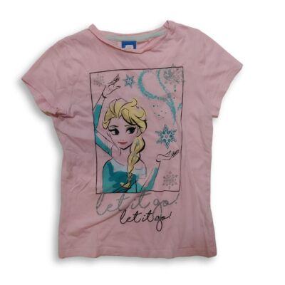 134-es rózsaszín póló - Frozen, Jégvarázs