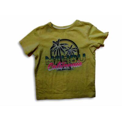 134-es sárga pálmafás fiú póló - Primark