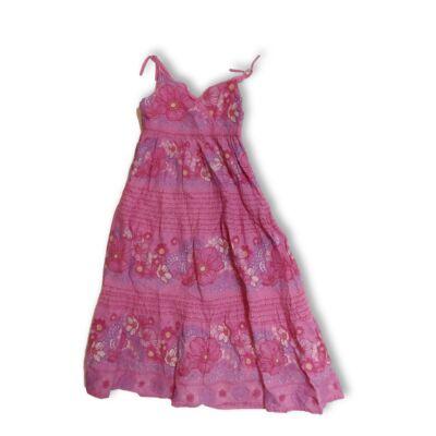 128-as rózsaszín virágos nyári ruha - H&M