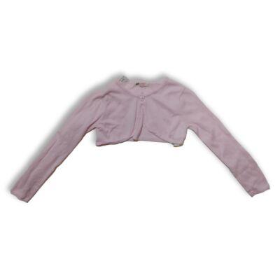 122-128-as rózsaszín kötött boleró - H&M
