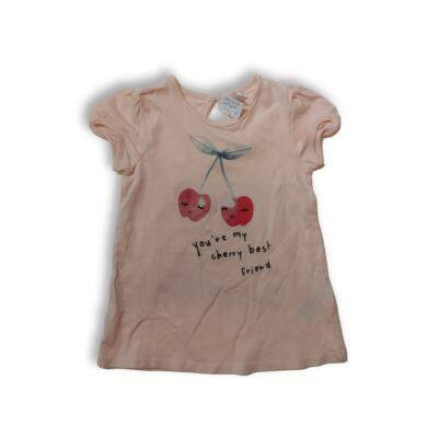 86-os barackszínű cseresznyés póló - H&M