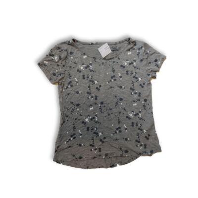 146-152-es szürke mintás póló - Pepperts