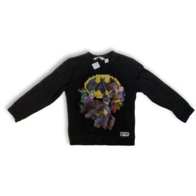 134-140-es fekete pamut pulóver - Batman - H&M