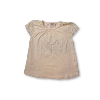 122-es fehér csipkés ujjú póló - Pepco