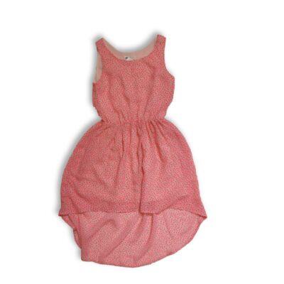 146-os rózsaszín virágos lenge nyári ruha - H&M