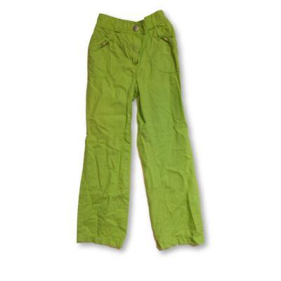 122-es élénkzöld lányka vászonnadrág - C&A