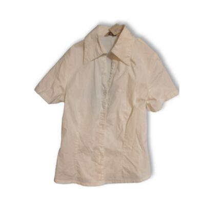 158-as fehér rövidujjú blúz