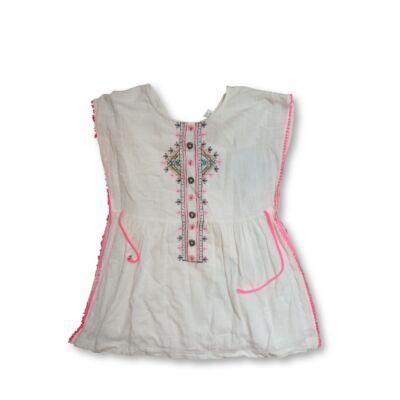 152-es fehér nyári tunika - Zara